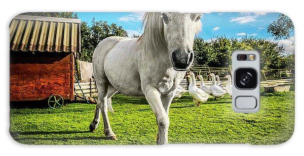 English Gypsy Horse Galaxy Case