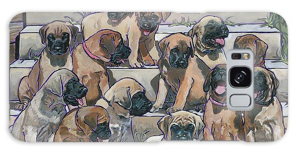 English Mastiff Puppies Galaxy Case