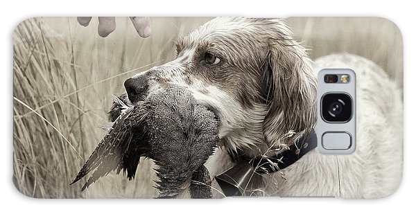 English Setter And Hungarian Partridge - D003092a Galaxy Case