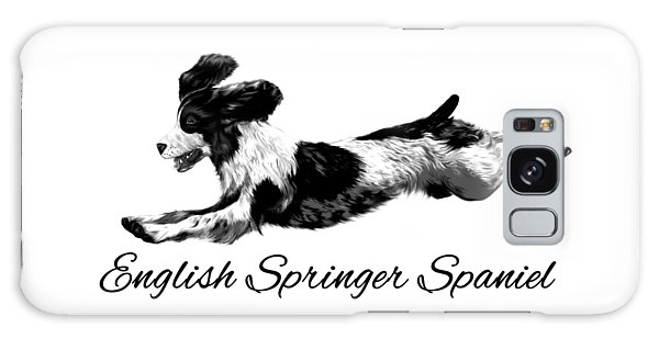 English Springer Spaniel Galaxy Case