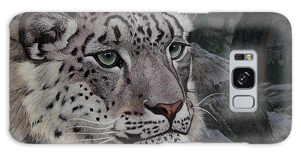 Galaxy Case - Enif- Snow Leopard by Antonio Marchese