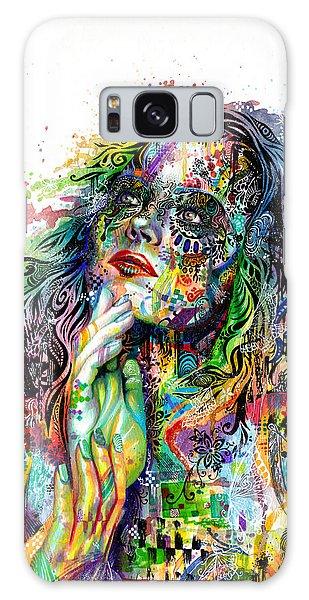 Woman Galaxy Case - Enigma by Callie Fink