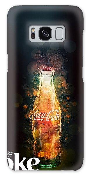 Enjoy Coca-cola With Bubbles Galaxy Case