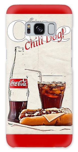 Enjoy Coca-cola With Chili Dog Galaxy Case