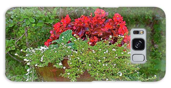 Enjoy The Garden Galaxy Case by Ray Shrewsberry