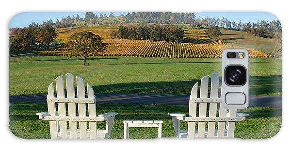 Enjoying Oregon Wine Country Galaxy Case