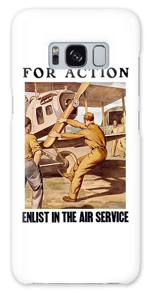 Airplane Galaxy Case - Enlist In The Air Service by War Is Hell Store