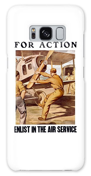Enlist In The Air Service Galaxy Case