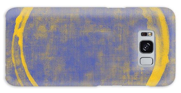 Yellow Galaxy Case - Enso 1 by Julie Niemela