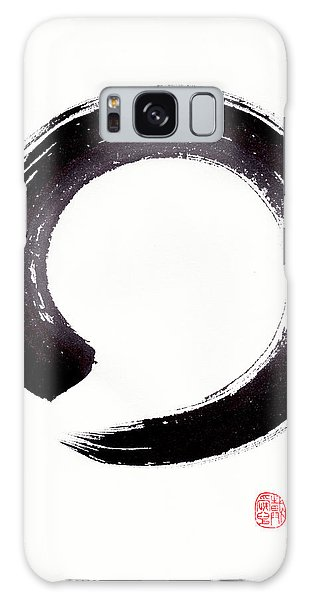 Enso - Embracing Imperfection Galaxy Case by Oiyee At Oystudio