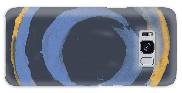 Enso T Blue Orange Galaxy Case by Julie Niemela