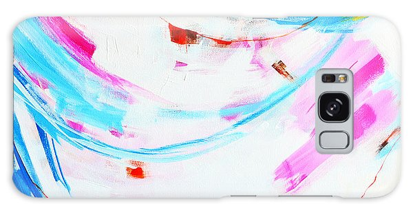 Entangled No. 8 - Left Side - Abstract Painting Galaxy Case