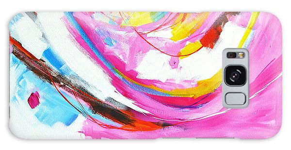 Entangled No. 8 - Right Side - Abstract Painting Galaxy Case