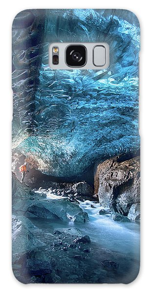 Ice Galaxy Case - Entering The Ice Cave by Peter Svoboda