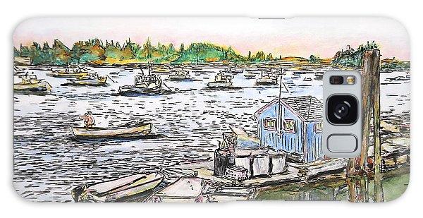 Entering Vinal Haven, Maine Galaxy Case