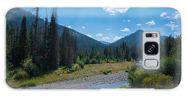 Entering Yellowstone National Park Galaxy Case