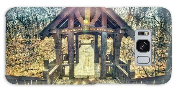 Entrance To 7 Bridges - Grant Park - South Milwaukee  Galaxy Case by Jennifer Rondinelli Reilly - Fine Art Photography
