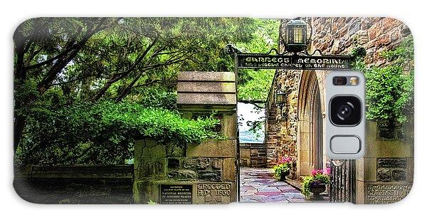 Entrance To Garrett Chapel Galaxy Case