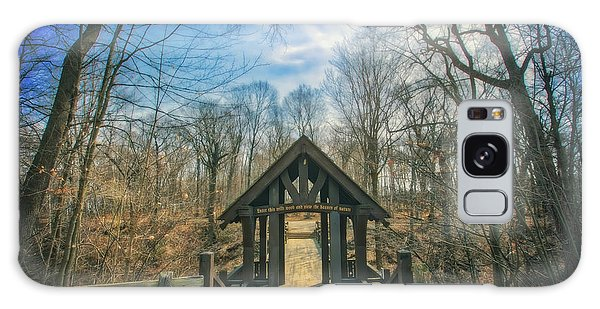 Entrance To Seven Bridges - Grant Park - South Milwaukee #3 Galaxy Case by Jennifer Rondinelli Reilly - Fine Art Photography