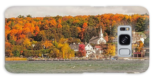 Ephraim Wisconsin In Door County Galaxy Case by Heidi Hermes