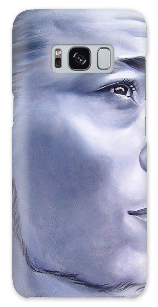 Portraiture Galaxy Case - Ephrain by Laura Pierre-Louis