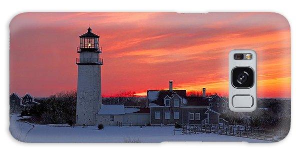 Epic Sunset At Highland Light Galaxy Case