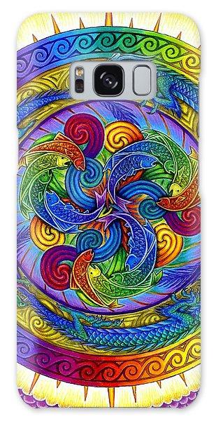 Psychedelic Dragons Rainbow Mandala Galaxy Case