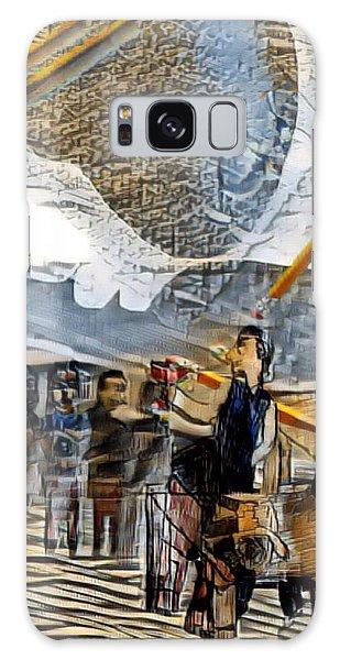 Whining Galaxy Case - Erasir by Marcia Kaye Rogers