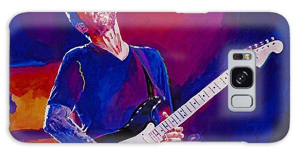 Eric Clapton Galaxy Case - Eric Clapton - Crossroads by David Lloyd Glover