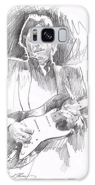 Eric Clapton Galaxy Case - Eric Clapton Blackie by David Lloyd Glover