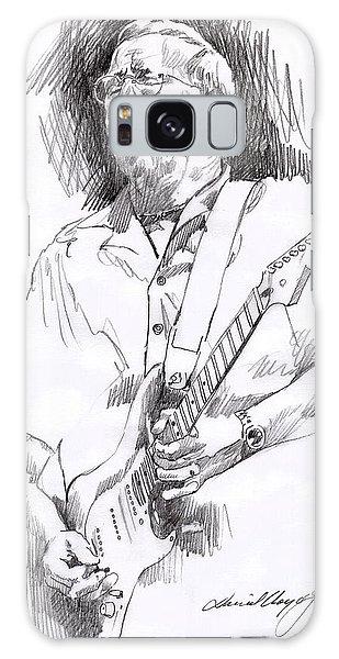 Eric Clapton Galaxy Case - Eric Clapton Blue by David Lloyd Glover