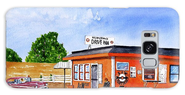 Ericksons Drive Inn Galaxy Case