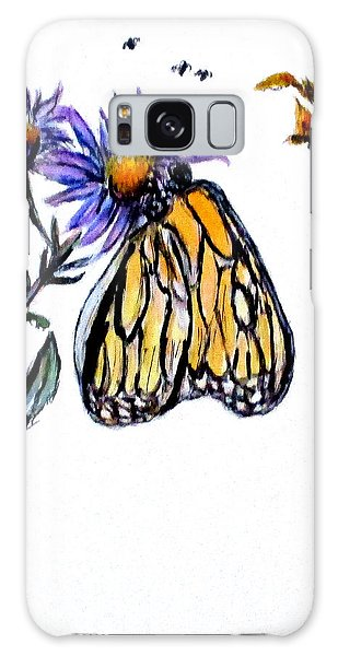 Erika's Butterfly One Galaxy Case