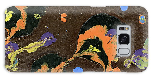 Eroded And Corroded Galaxy Case