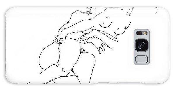 Erotic Art Drawings 13 Galaxy Case