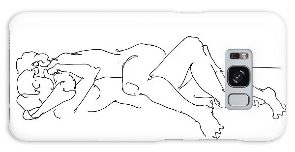 Erotic Lesbian Art 1b Galaxy Case