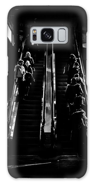 Galaxy Case featuring the photograph Escalator No 1 by Brian Carson