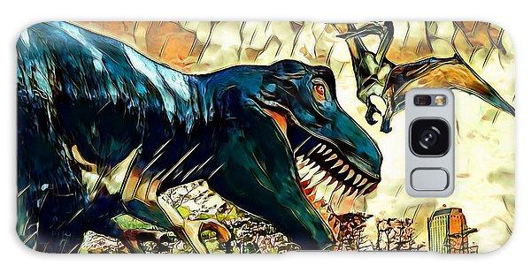 Escape From Jurassic Park Galaxy Case by Pennie  McCracken