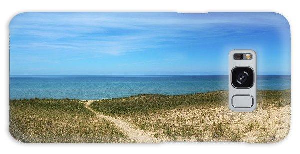 Esch Beach Galaxy Case