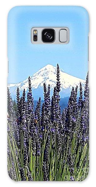 Essence Of Lavender Galaxy Case