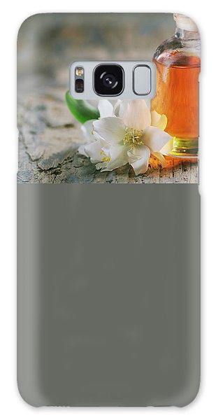 Essential Oil With Jasmine Flower Galaxy Case