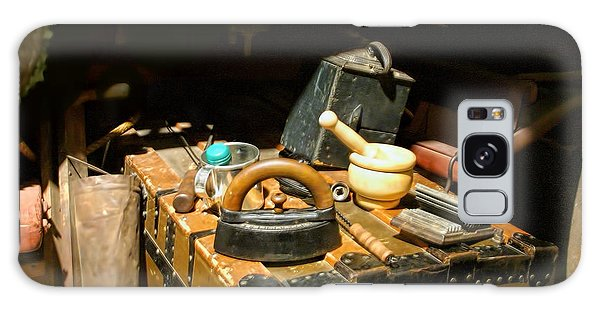 Essentials  From Covered Wagon Galaxy Case by Linda Phelps