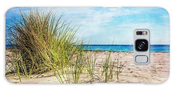 Flagler Galaxy Case - Etchings In The Sand by Debra and Dave Vanderlaan
