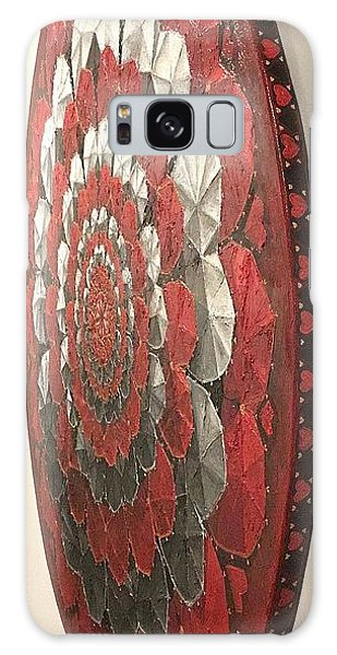 Galaxy Case featuring the painting Eternal Hearts  by James Lanigan Thompson MFA