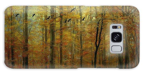 Ethereal Autumn Galaxy Case