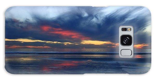Ethereal Beach Blues Galaxy Case