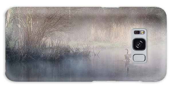 Galaxy Case featuring the photograph Ethereal Goose by Bill Wakeley