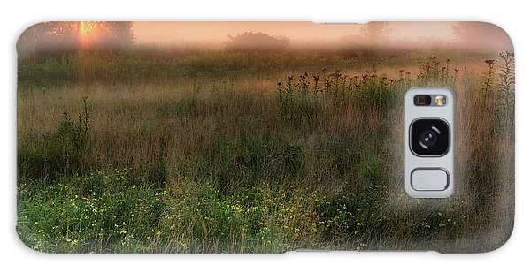 Sunrise Galaxy Case - Ethereal Sunrise Square by Bill Wakeley