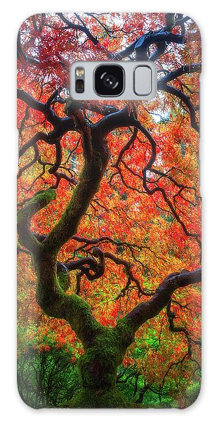 Ethereal Tree Alive Galaxy Case