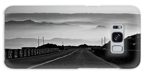 Etna Road Galaxy Case by Bruno Spagnolo